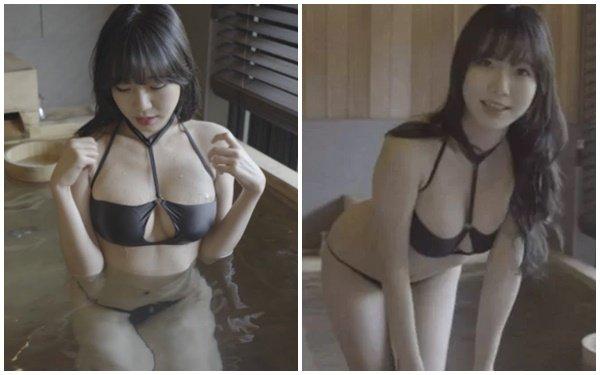 """Mặc bikini gợi cảm rồi làm vlog tắm bồn định dạng 4K, nữ YouTuber mời gọi fan """"tham gia"""" cùng, hút triệu view trên sóng"""