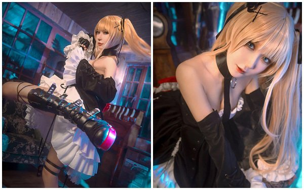 Ngất ngây trước bộ cosplay nàng hầu gái đáng yêu nhất của thế giới Dead or Alive