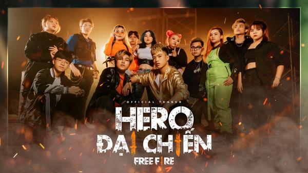 Biệt đội Siêu Anh Hùng – Hero Team vừa ra mắt sản phẩm âm nhạc đầy hứa hẹn, là một thế lực mới của Free Fire năm 2021?