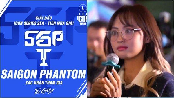 """Minh Nghi """"hết hồn"""", bình luận bất ngờ khi nhìn vào danh tính HLV và lineup của Saigon Phantom Tốc Chiến"""