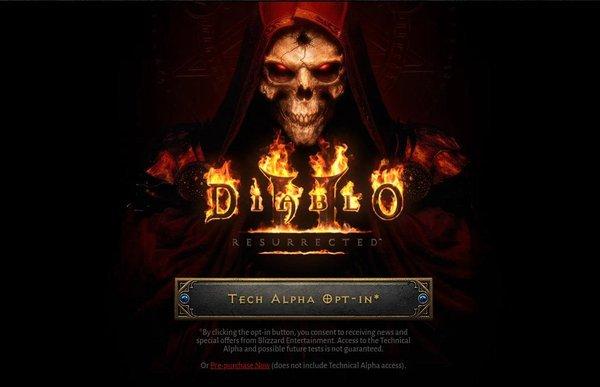 Hướng dẫn đăng ký tham gia chơi sớm Diablo 2 Remastered