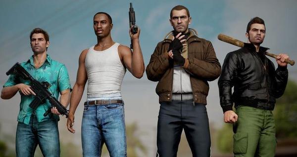 Bất ngờ với sự lột xác của các nhân vật huyền thoại trong GTA qua lớp áo đồ họa tiên tiến