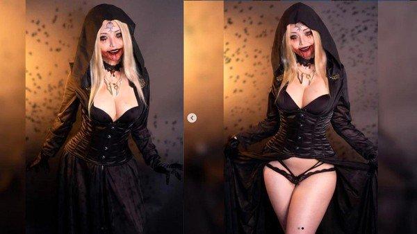 Đốt mắt với bộ ảnh của cosplayer gốc Việt hóa thân nữ ma cà rồng trong Resident Evil 8