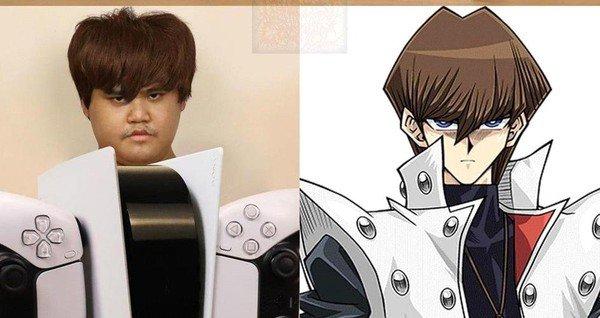 Thánh Cosplay biến PS5 thành nhân vật Seto Kaiba trong Yu-Gi-Oh