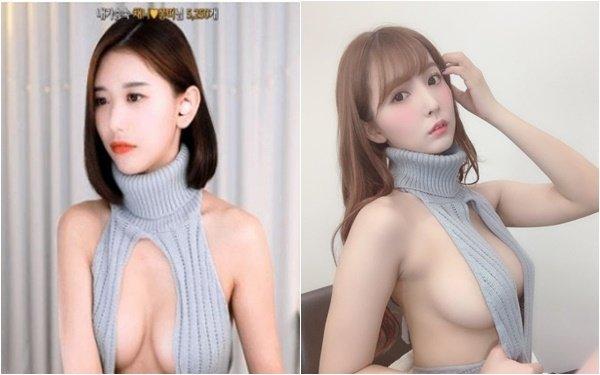 """Bắt chước kiểu áo không nội y của Yua Mikami trên sóng, nữ streamer nhận vô số bình luận """"khiếm nhã"""""""