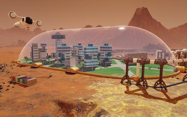 Chinh phục Sao Hỏa với game miễn phí Surviving Mars