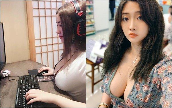 """Được lấy làm ví dụ cho luận điểm """"ngực to khó chơi game"""", cô nàng hot girl bỗng chốc nổi như cồn sau một đêm"""
