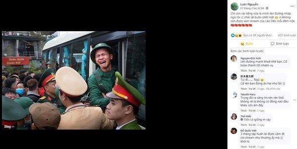 Cter lên đường nhập ngũ bảo vệ Tổ quốc, không quên cảm ơn Dũng CT và Team Đụt