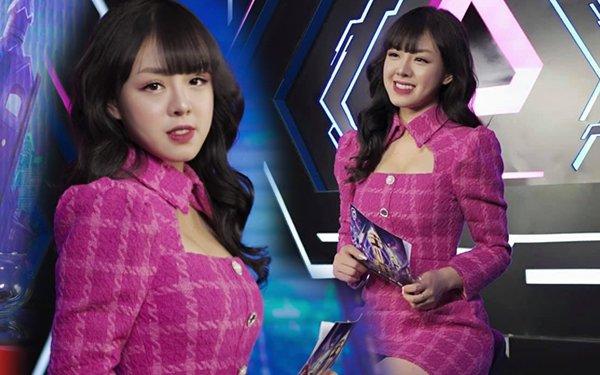 """Xinh đẹp, """"tay thơm"""", nữ MC khiến cả làng PUBG Mobile Việt xôn xao khi xuất hiện"""