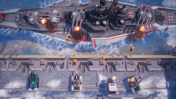 Tank Brawl 2, game bắn tăng hoàn toàn do người Việt phát triển ra mắt trên Steam