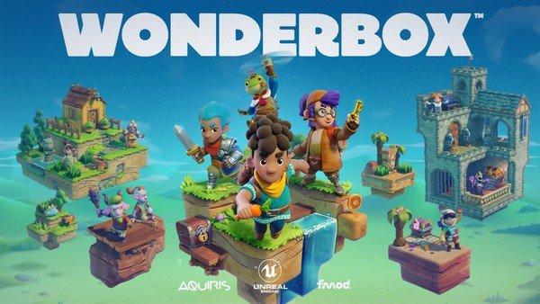 Dành riêng cho các fan nhà Táo tựa game độc đáo trên Apple Arcade: Wonderbox The Adventure Maker