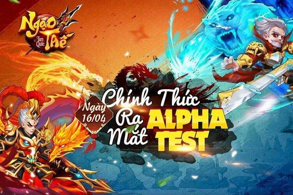 """3 lý do khiến game thủ """"không thể chối từ"""" Ngạo Thế Tam Quốc, tựa game đấu tướng Alpha Test hôm nay 16/4"""