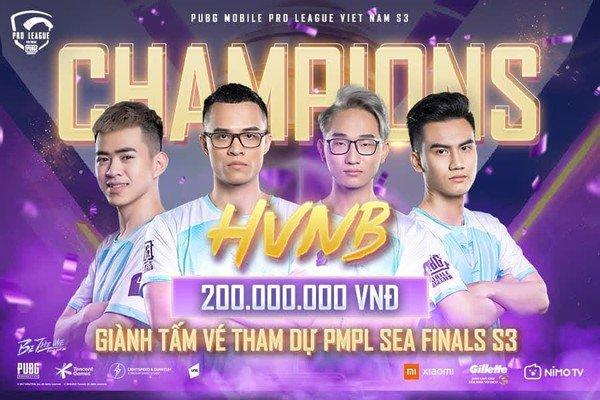 """Tổng kết giải đấu PMPL VN S3 - Cú sốc lớn mang tên """"ngựa  ô"""" HVNB"""