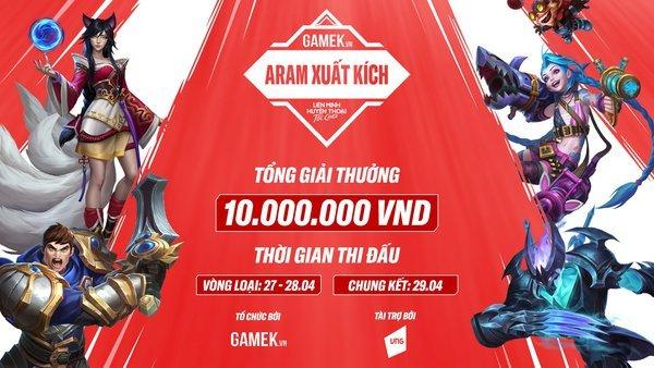 Giải đấu Tốc Chiến: Aram Xuất Kích chính thức khởi tranh, giải cộng đồng mà số lượng đông đảo thế này đây
