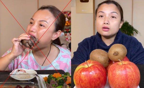 Bị fan đòi tẩy chay vì ăn bàn chân gấu, Quỳnh Trần JP lên tiếng: Làm YouTube nên muốn có video độc lạ!