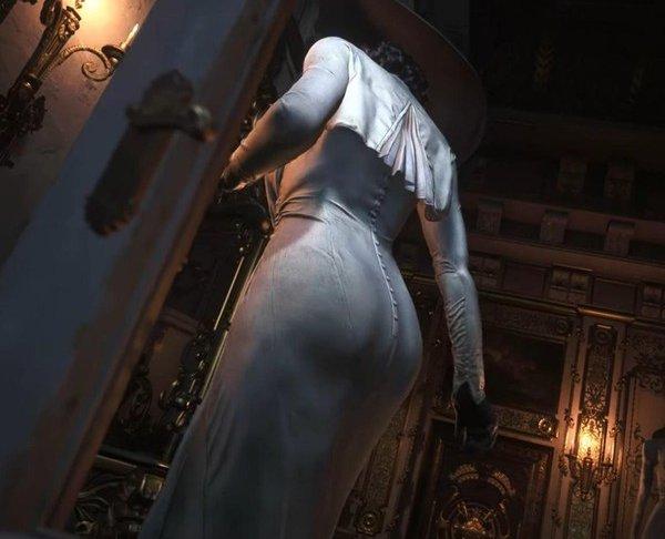 Resident Evil 8 cho phép người chơi chụp ảnh Lady Dimitrescu thoả thích
