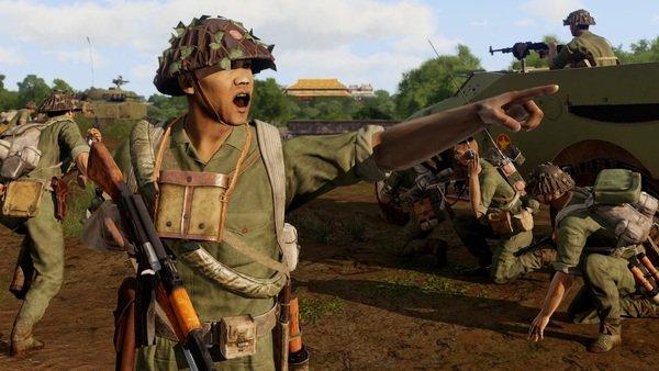 Arma 3 ra mắt DCL chiến tranh Việt Nam