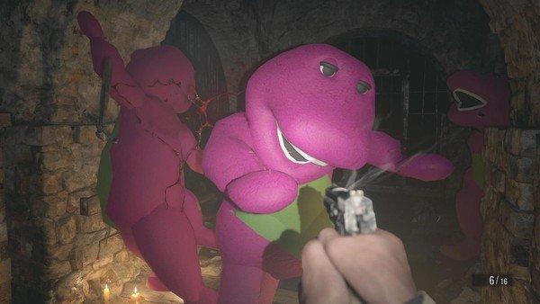 Vừa ra mắt, Resident Evil Village đã có rất nhiều bản mod thú vị