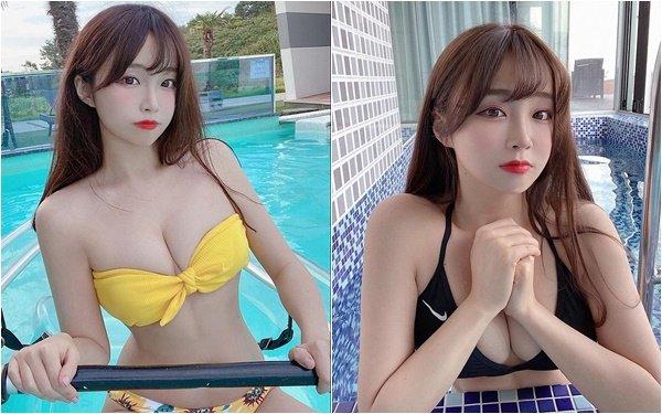 """Off livestream quá lâu, nữ streamer gợi cảm đăng ảnh bikini gợi cảm để bù đắp cho fan rồi hỏi """"Đủ chưa"""""""