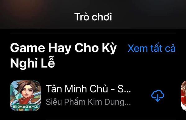 Tân Minh Chủ All Kill BXH trên App Store, độc chiếm TOP 1 Game Hay cho Kỳ Nghỉ Lễ