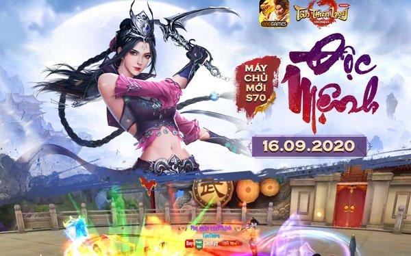 Phiên bản mới ra mắt chưa lâu, Tân Thiên Long Mobile lại rục rịch khai mở server S70