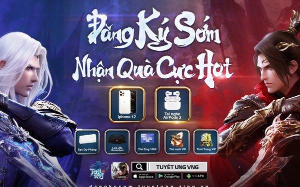 Cơ hội sở hữu iPhone 12 khi tham gia đăng ký sớm Tuyết Ưng VNG