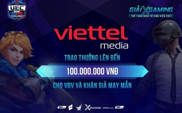 Nóng! Viettel Media 'mạnh tay' trao thưởng 100 triệu đồng cho VĐV và khán giả may mắn trong đêm Chung kết Xgaming - UEC 2021