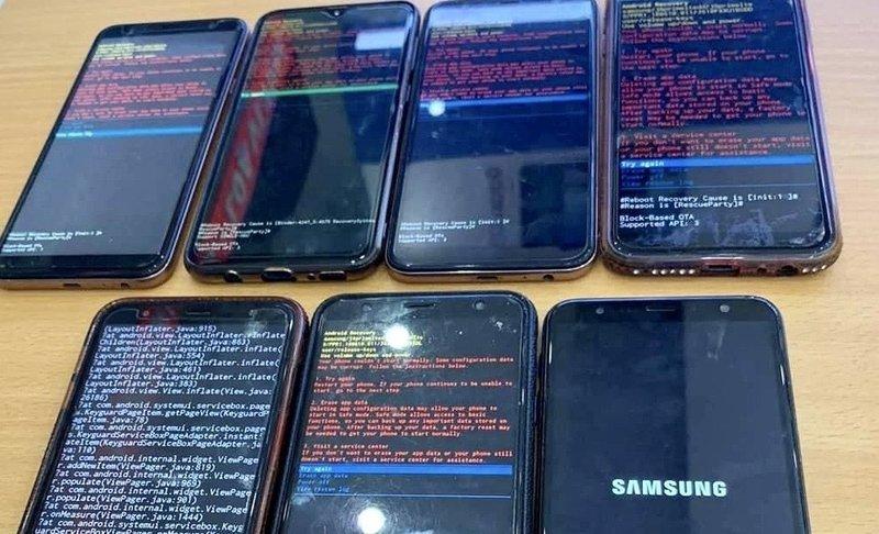Người dùng smartphone Samsung tự sửa lỗi Android Recovery