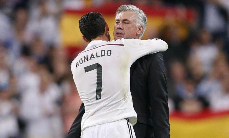 Ancelotti: 'Hãy cho Ronaldo sự thoải mái'