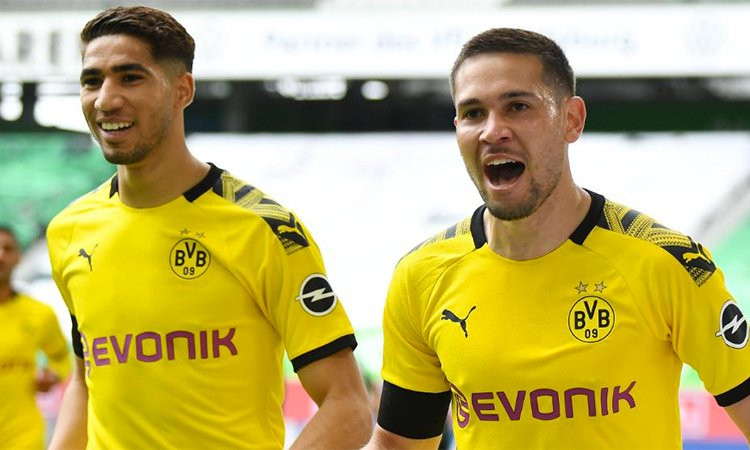 Wolfsburg 0-2 Dortmund