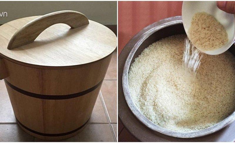 Tại sao nhà giàu không dùng thùng nhựa đựng gạo? Lý do sẽ khiến bạn bất ngờ