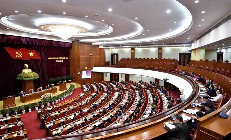 Trung ương thảo luận công tác nhân sự, phân bổ đại biểu dự Đại hội 13