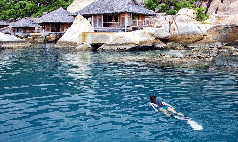 Nhiều khách Việt lần đầu được ở resort sang chảnh