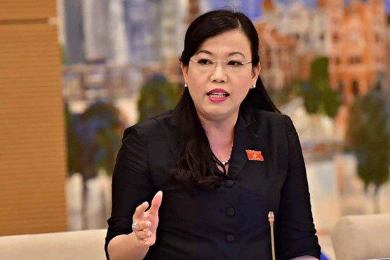 Lý do Quốc hội miễn nhiệm bà Nguyễn Thanh Hải