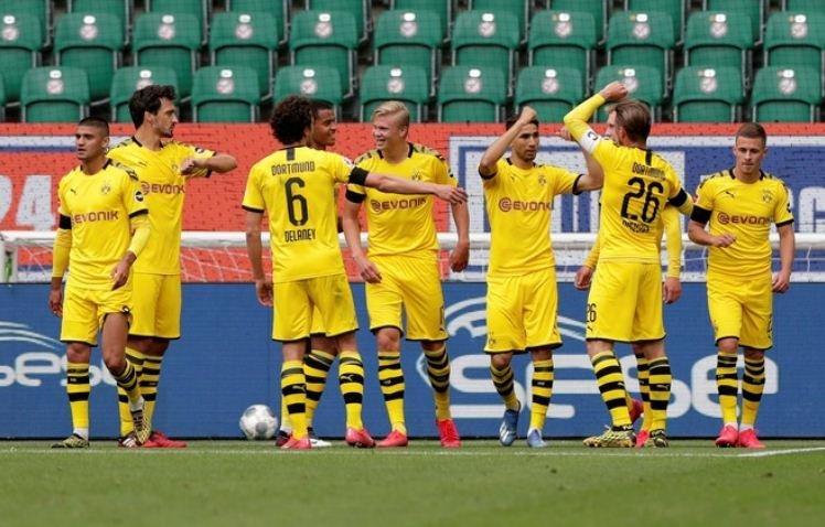 Kết quả Wolfsburg vs Dortmund: Phả hơi nóng vào gáy Hùm xám