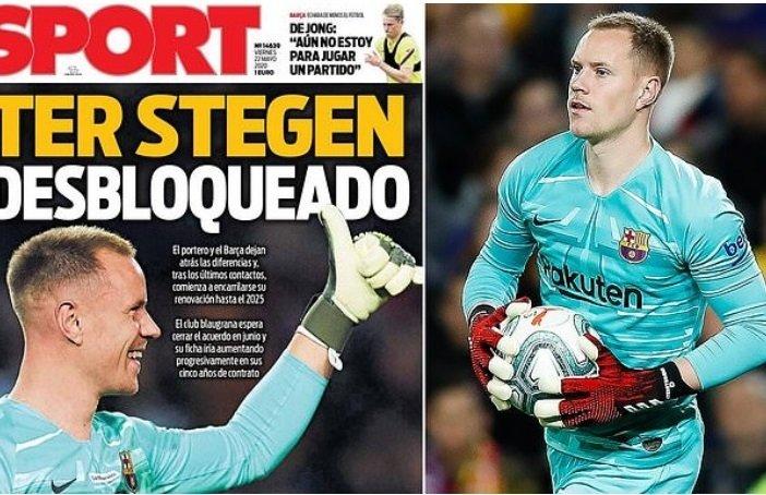 Tin bóng đá 25-5: MU đổi Pogba cho Juventus, Ter Stegen ký mới Barca
