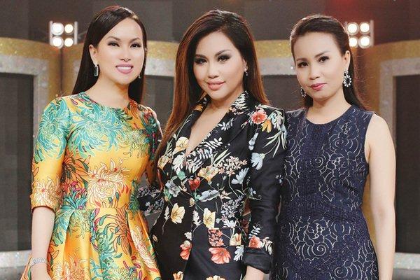 Cuộc sống của 3 chị em gái Hà Phương - Minh Tuyết - Cẩm Ly