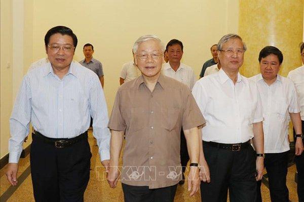 Tổng bí thư chủ trì họp Thường trực Ban chỉ đạo TƯ phòng chống tham nhũng