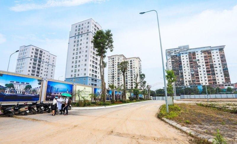 Dự án Louis City Hoàng Mai treo cả thập kỷ ở Hà Nội bất ngờ rao bán rầm rộ