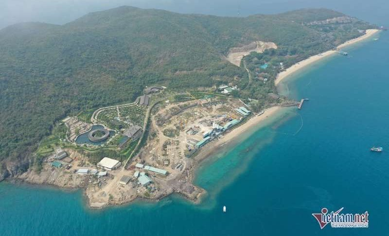 Chiếm huỷ hoại hàng nghìn m2 đất trên đảo Hòn Tằm bị phạt 117 triệu đồng