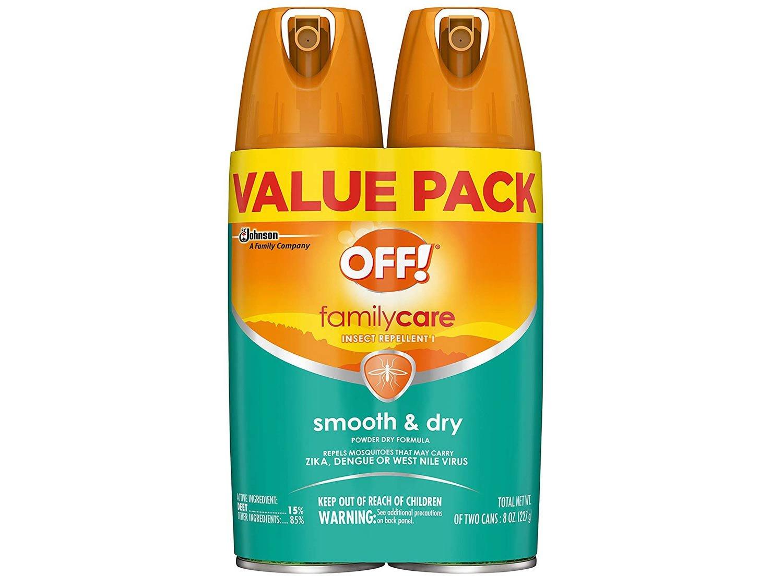bundled two pack of aerosal spray