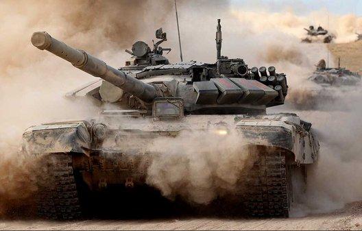 Robotized T-72s