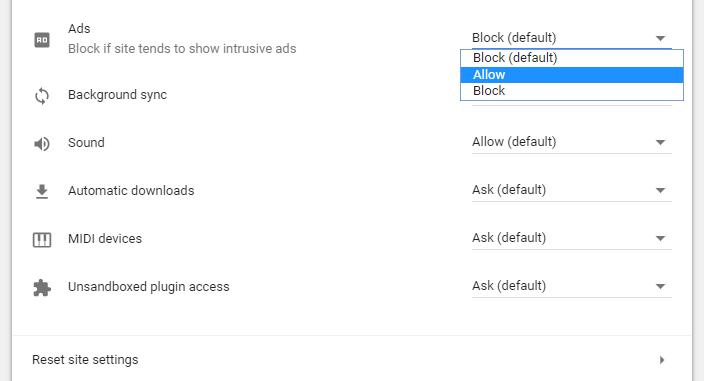 Kako uključiti ili isključiti adblock na Google Chrome pretraživaču